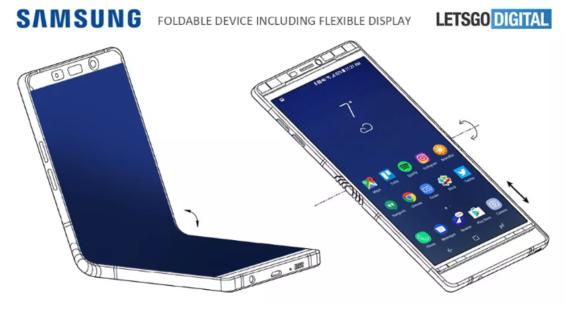 samsung podria lanzar hoy galaxy x smartphone flexible 2