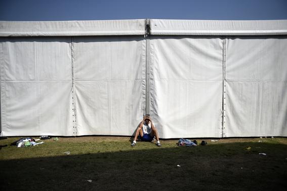 imagenes paso de caravana migrante por mexico 3