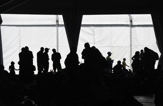 imagenes paso de caravana migrante por mexico 6