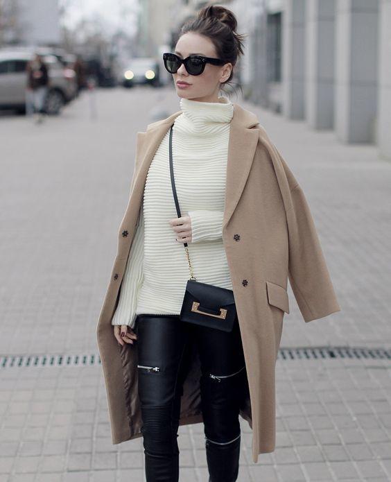 formas correctas de usar un abrigo de mujer 4