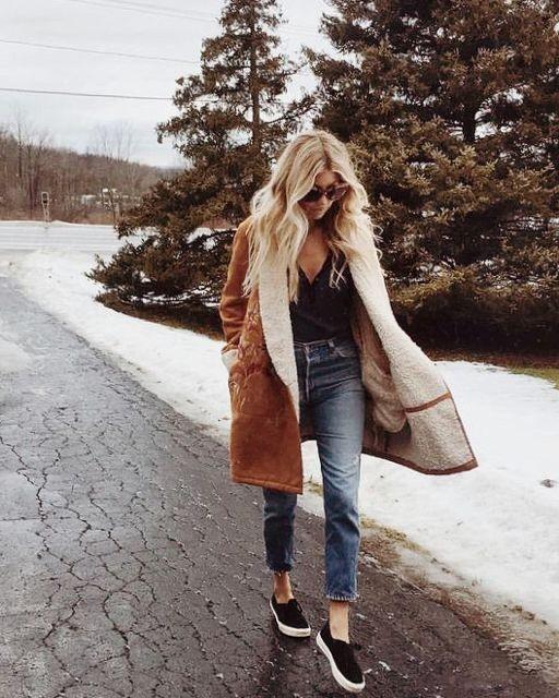 formas correctas de usar un abrigo de mujer 7