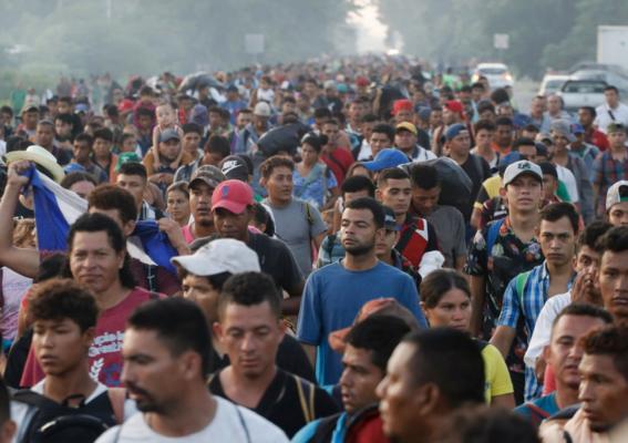 migrantes marchan en cdmx para protestar y pedir ayuda 2