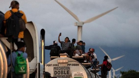 caravana migrante xenofobia en mexico 2