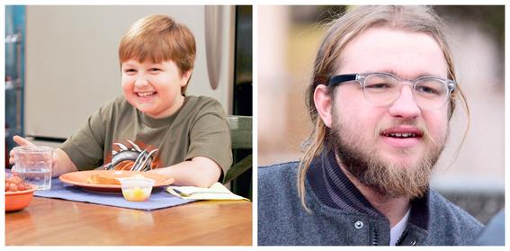 transformaciones de ninos actores 8