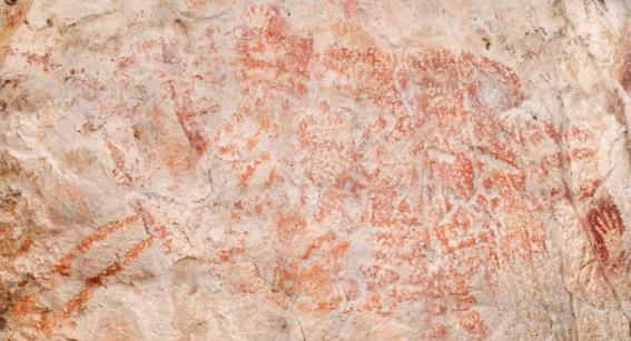 arqueologos descubren la pintura rupestre mas antigua de la historia 1