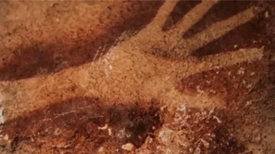 arqueologos descubren la pintura rupestre mas antigua de la historia 2