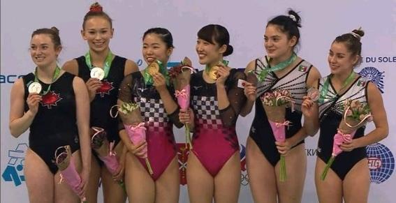 gimnastas mexicanas ganan medalla de bronce en mundial de gimnasia 1