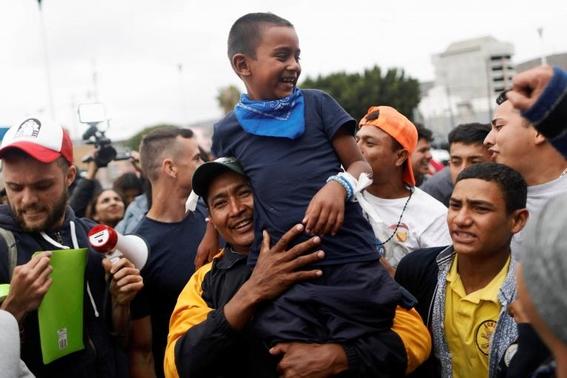 como viven los migrantes de la caravana migrante 3