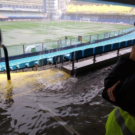 las lluvias podrian provocar suspension del boca vs river 1