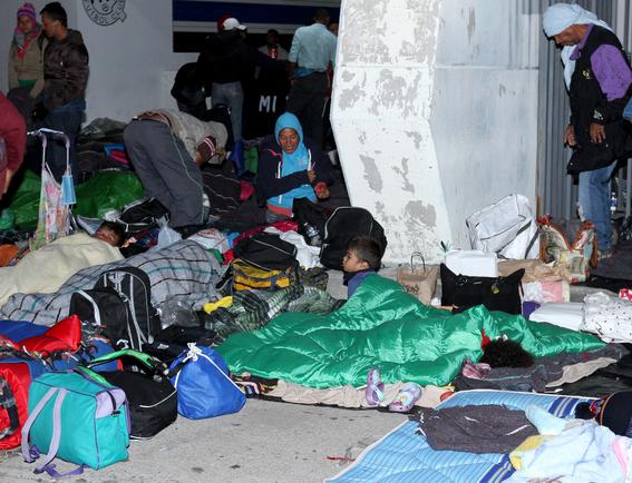 migrantes comienzan a llegar a guanajuato 1