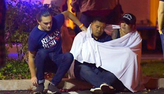 Al menos 11 heridos en un tiroteo en un bar de California