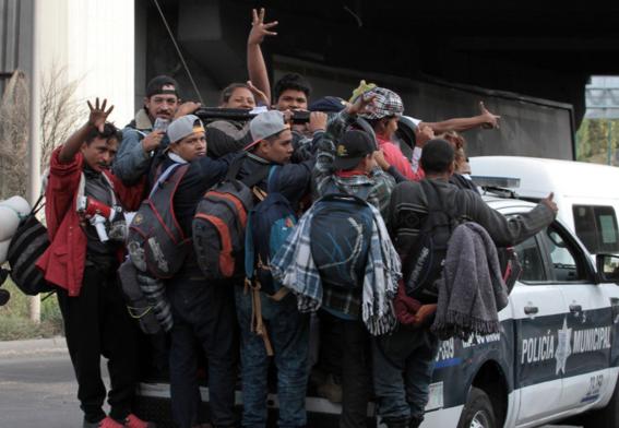 segunda caravana de migrantes llega lunes a cdmx 1