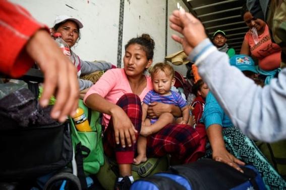 enfermedades que caravana migrante sufre son tuberculosis influeza 3