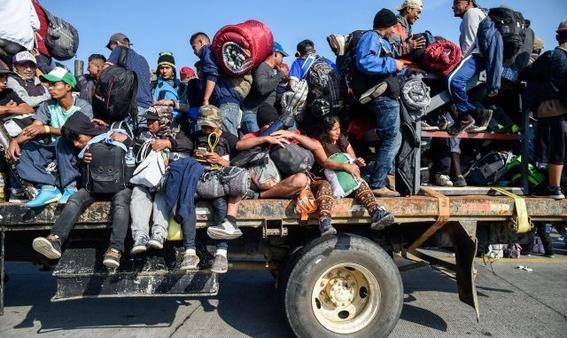 enfermedades que caravana migrante sufre son tuberculosis influeza 4