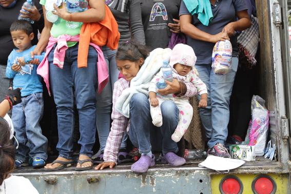 caravana migrante en tijuana 2