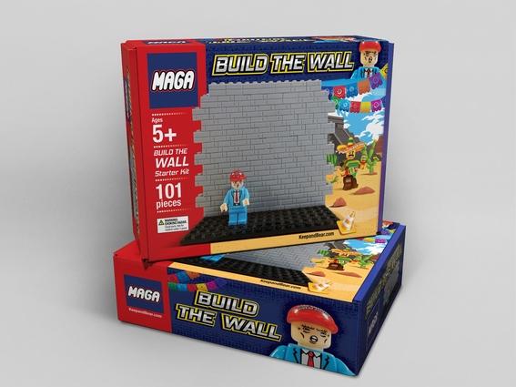 lanzan juguete construye el muro de donald trump 2
