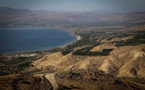 se seca el mar galilea en israel por sobreexplotacion humana 1