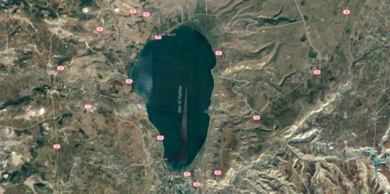 se seca el mar galilea en israel por sobreexplotacion humana 2
