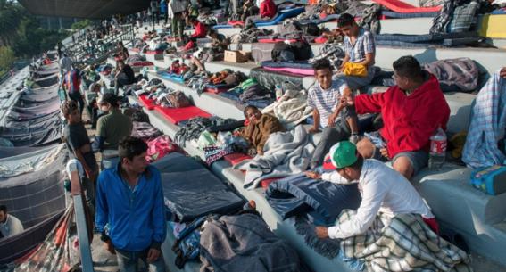 caravana migrante queretaro guanajuato 2