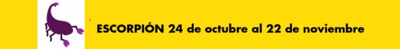 horoscopos del 12 al 18 de noviembre de 2018 8