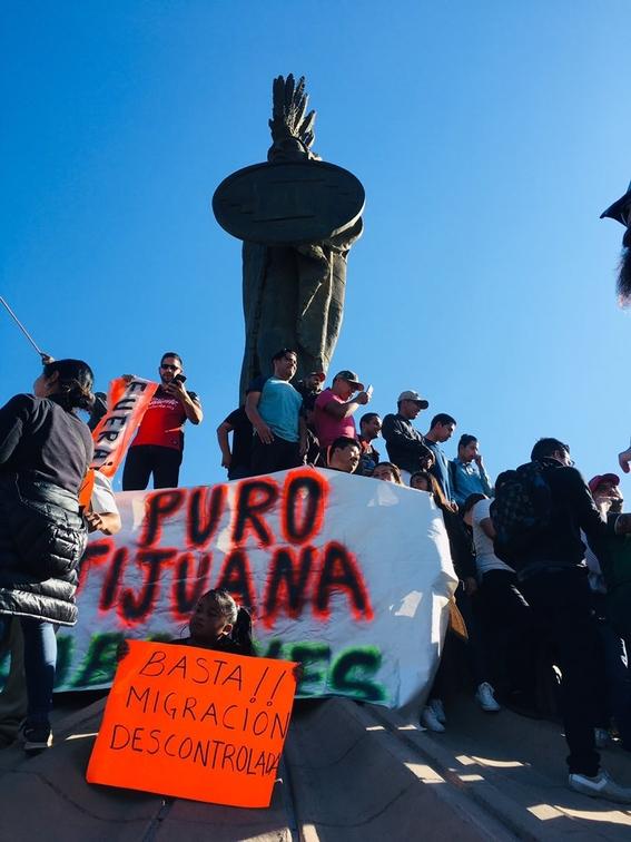 manifestacion en tijuana 1