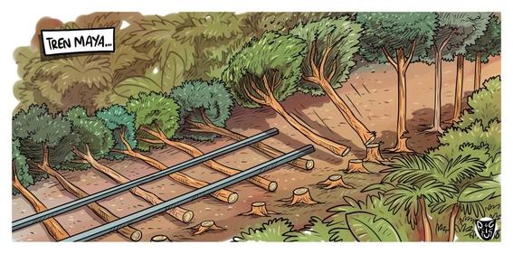 construccion del tren maya 2