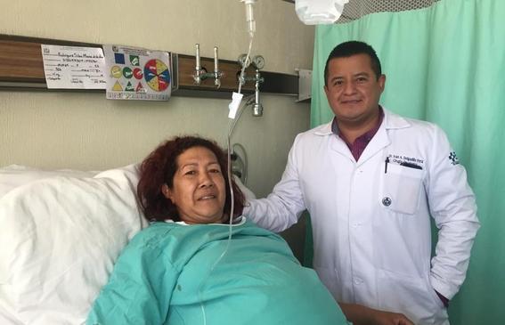 extirpan tumor abdominal de 17 kilos en imss durango 1
