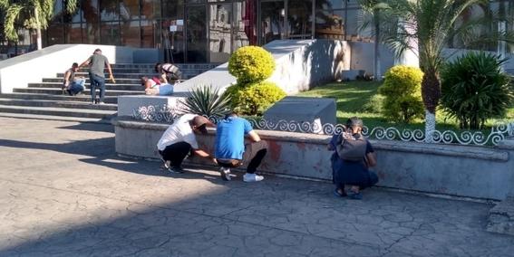migrantes crean caravana de limpieza en tapachula 2