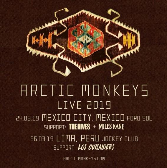 arctic monkeys anuncian que vienen a la ciudad de mexico 1