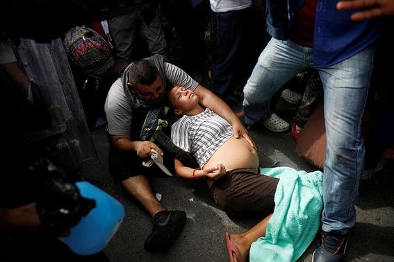 autoridades migratorias mexicanas frenan sexta caravana migrante 1
