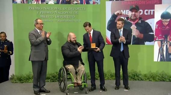 enrique pena nieto entrega el premio nacional de deportes 2018 2