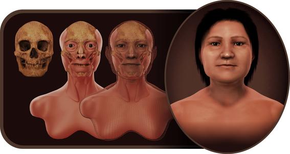 le ponen rostro al craneo mas antiguo descubierto en uruguay 1