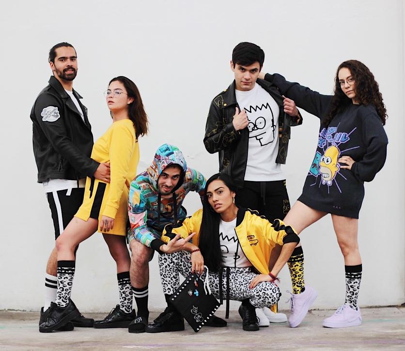 the simpsons high fashion streetwear anuar layon