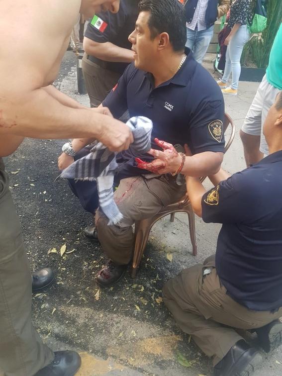 ismael figueroa dirigente del sindicato de bomberos de la cdmx 2