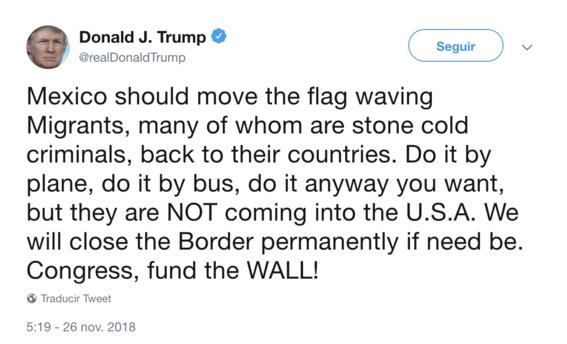 donald trump amenaza a migrantes 1