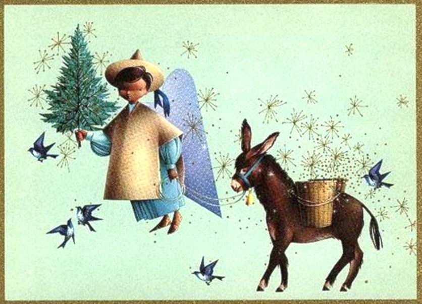 alejandro rangel hidalgo vintage mexican christmas cards