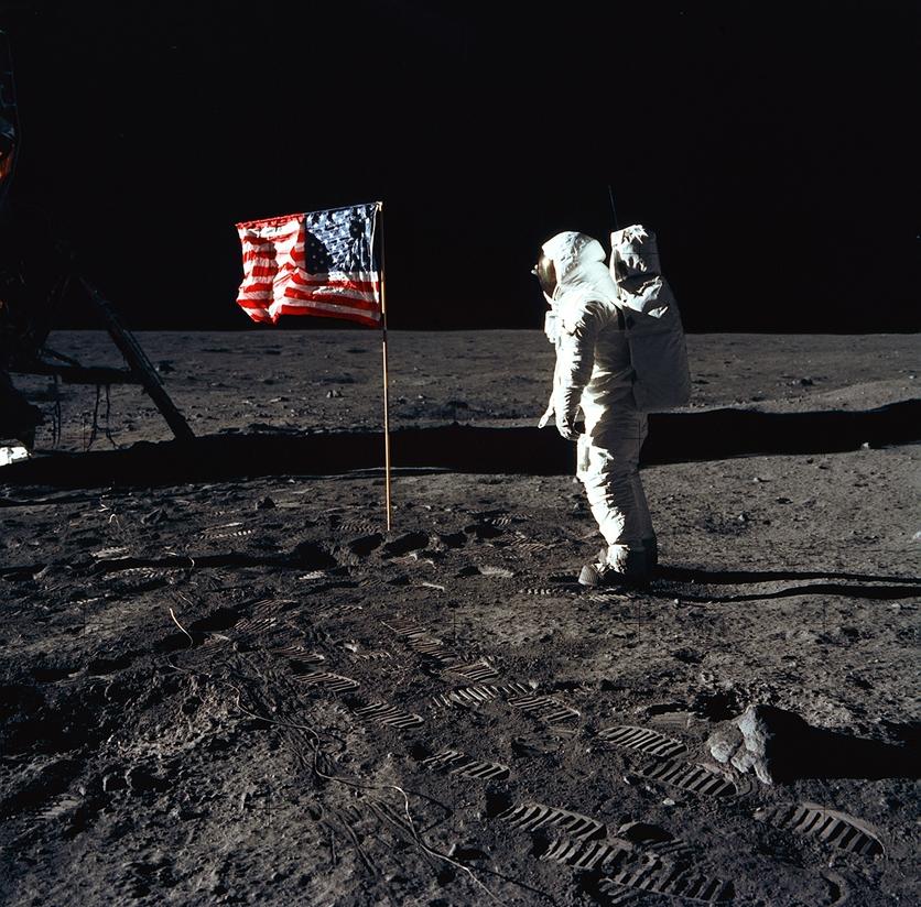 mision rusa prueba que llegada a la Luna fue falsa aldrin en la luna