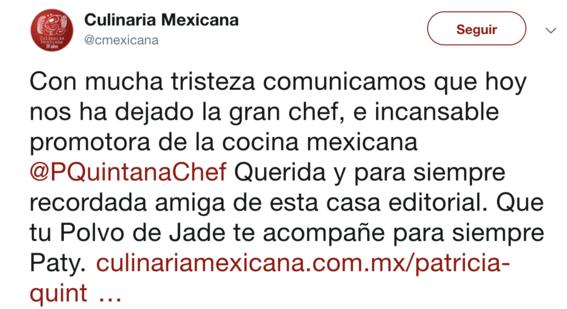 fallece la chef mexicana patricia quintanilla 1