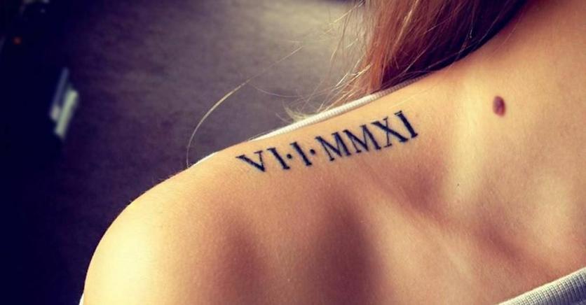 Ideas originales para tatuarte una fecha especial 9