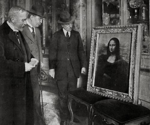 El robo que hizo de la Mona Lisa la pintura más sobrevalorada de la historia 1