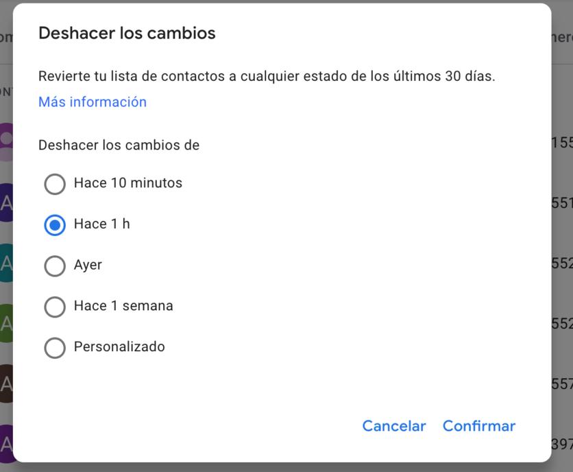 ¿Cómo recuperar un contacto borrado de Gmail? 4