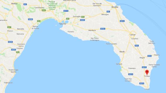 un tornado destruye un restaurante italia 2