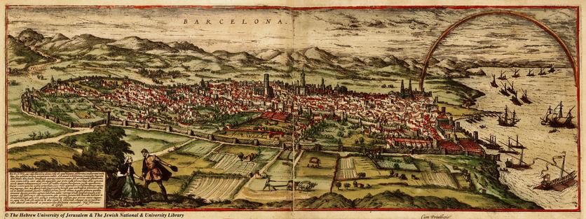 El Google Maps del siglo XVI donde aparece el palacio de Moctezuma y el Templo Mayor 2