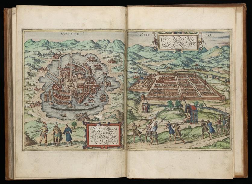 El Google Maps del siglo XVI donde aparece el palacio de Moctezuma y el Templo Mayor 4