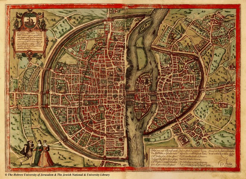 El Google Maps del siglo XVI donde aparece el palacio de Moctezuma y el Templo Mayor 5