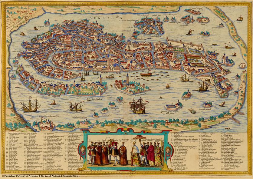 El Google Maps del siglo XVI donde aparece el palacio de Moctezuma y el Templo Mayor 3