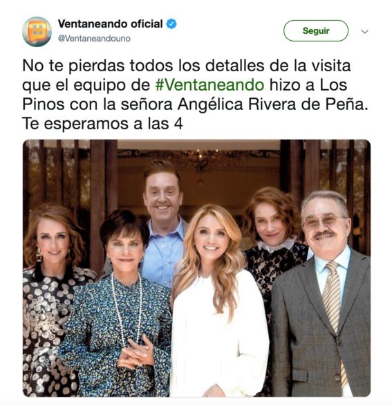 Angélica Rivera escribirá libro sobre su vida como Primera Dama