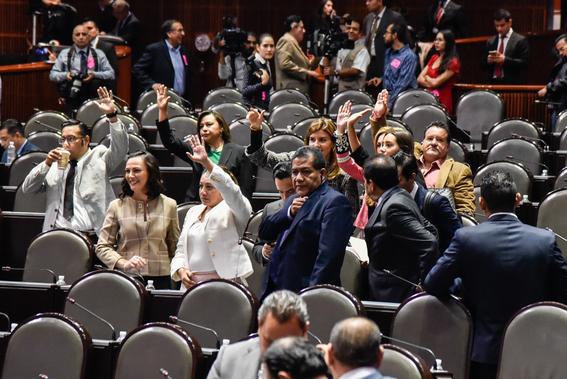 morena diputados chocan por reforma sobre fuero 1