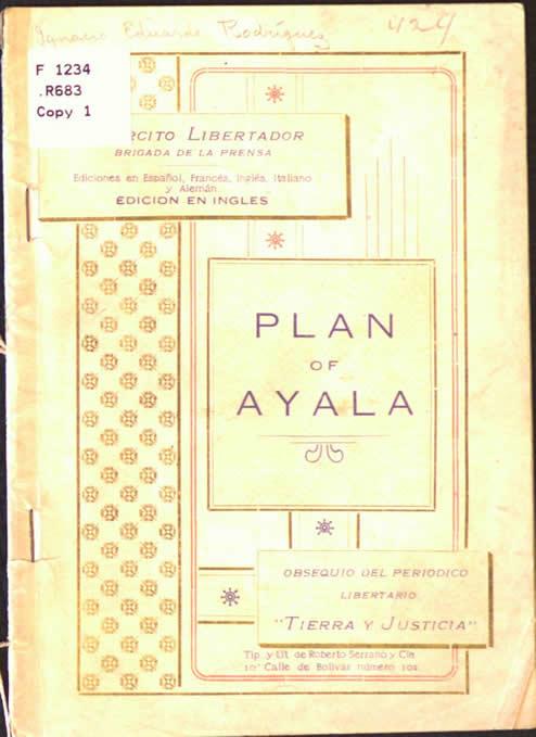 El Plan de Ayala y la Revolución Agraria de Emiliano Zapata 2