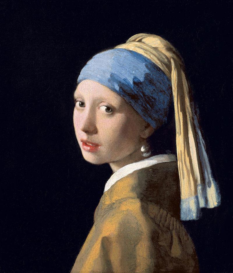 pinturas miran a los ojos incomodan arte vermeer